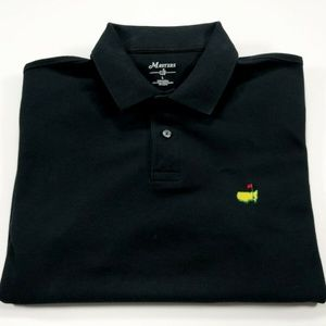 Masters Augusta National L Men's Black Polo